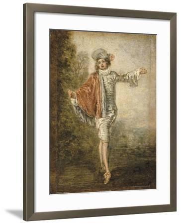 L'Indifférent-Jean Antoine Watteau-Framed Giclee Print
