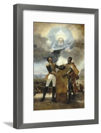 Le Serment des Ancêtres-Guillaume Guillon Lethière-Framed Giclee Print