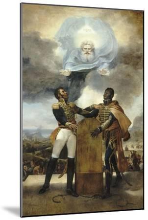 Le Serment des Ancêtres-Guillaume Guillon Lethière-Mounted Giclee Print