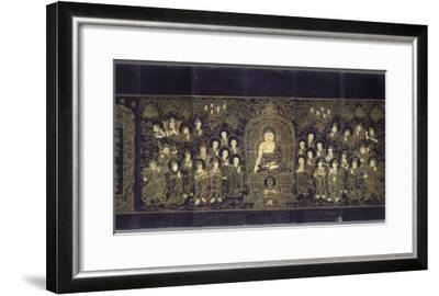 Le Sutra du Lotus (en chinois)--Framed Giclee Print