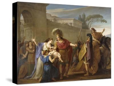 Les Adieux d'Hector et Andromaque-Joseph Marie Vien-Stretched Canvas Print