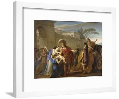 Les Adieux d'Hector et Andromaque-Joseph Marie Vien-Framed Giclee Print