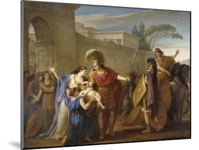 Les Adieux d'Hector et Andromaque-Joseph Marie Vien-Mounted Giclee Print