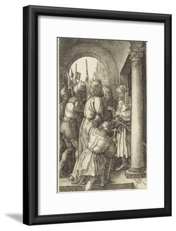 La Passion du Christ (1507-1513). Le Christ devant Pilate-Albrecht D?rer-Framed Giclee Print