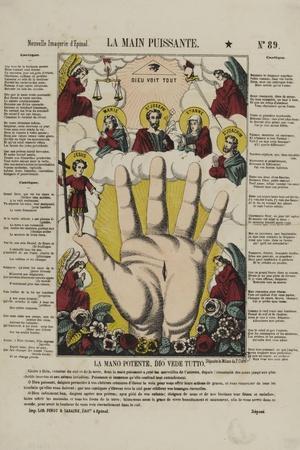 La main puissante--Stretched Canvas Print