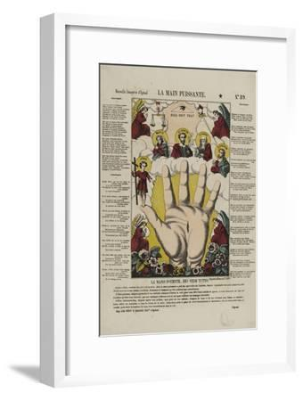 La main puissante--Framed Giclee Print