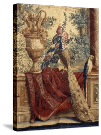 Les Maisons royales : Fontainebleau (3e entrefenêtre)-Charles Le Brun-Stretched Canvas Print