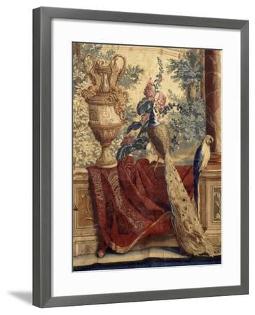Les Maisons royales : Fontainebleau (3e entrefenêtre)-Charles Le Brun-Framed Giclee Print