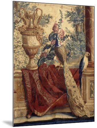 Les Maisons royales : Fontainebleau (3e entrefenêtre)-Charles Le Brun-Mounted Giclee Print