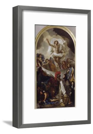 La Résurrection du Christ-Brun Charles Le-Framed Giclee Print