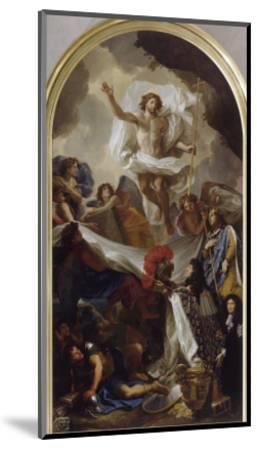 La Résurrection du Christ-Brun Charles Le-Mounted Giclee Print