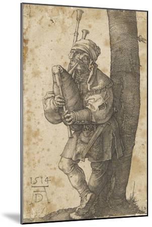 Le joueur de cornemuse-Albrecht D?rer-Mounted Giclee Print