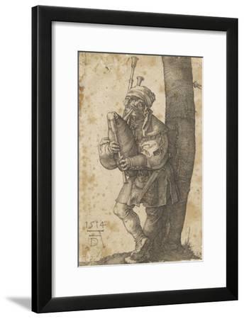 Le joueur de cornemuse-Albrecht D?rer-Framed Giclee Print