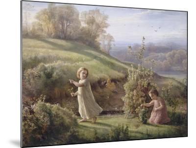Le Poème de l'âme. Le printemps-Louis Janmot-Mounted Giclee Print