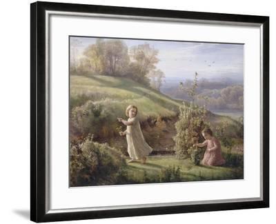 Le Poème de l'âme. Le printemps-Louis Janmot-Framed Giclee Print