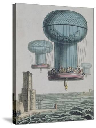 La thilorière ou descente en Angleterre. 13 prairial An XI.--Stretched Canvas Print