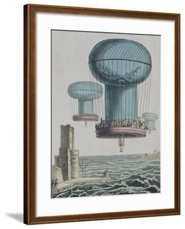 La thilorière ou descente en Angleterre. 13 prairial An XI.--Framed Giclee Print