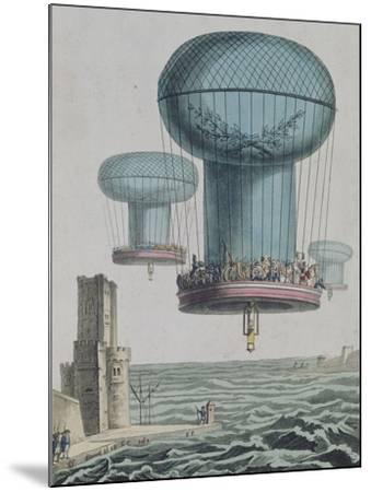 La thilorière ou descente en Angleterre. 13 prairial An XI.--Mounted Giclee Print