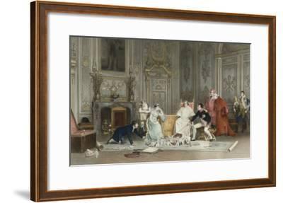 La répétition du sacre--Framed Giclee Print