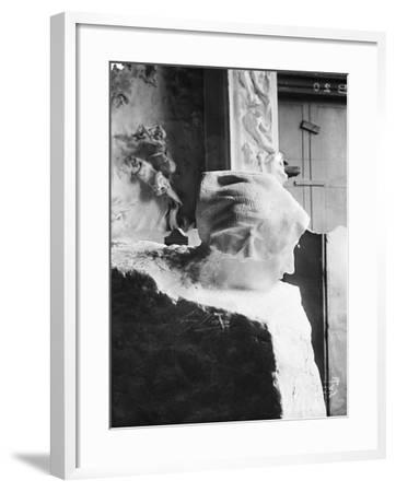 La Pensée-Auguste Rodin-Framed Giclee Print