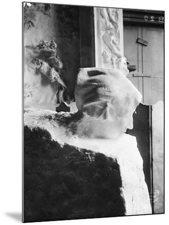 La Pensée-Auguste Rodin-Mounted Giclee Print