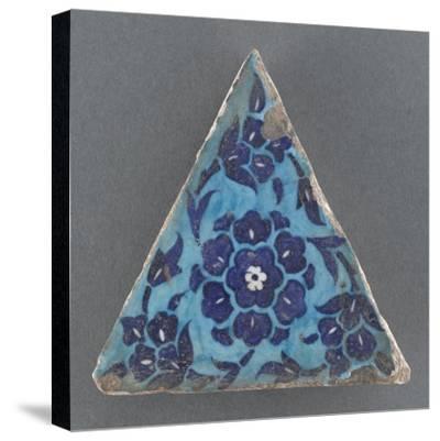 Carreau triangulaire--Stretched Canvas Print