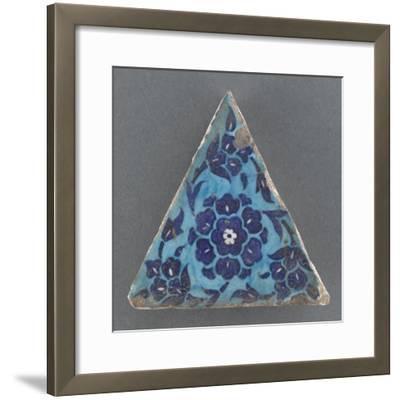 Carreau triangulaire--Framed Giclee Print
