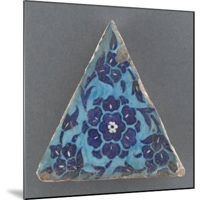 Carreau triangulaire--Mounted Giclee Print