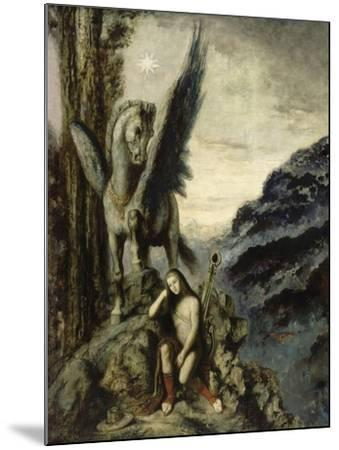 Le Poète voyageur-Gustave Moreau-Mounted Giclee Print