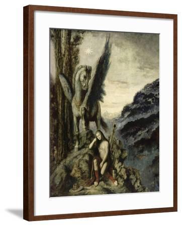 Le Poète voyageur-Gustave Moreau-Framed Giclee Print