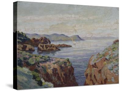 Vers le Mal Infernet (Esterel)-Armand Guillaumin-Stretched Canvas Print