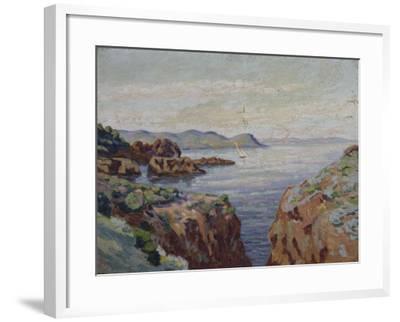 Vers le Mal Infernet (Esterel)-Armand Guillaumin-Framed Giclee Print