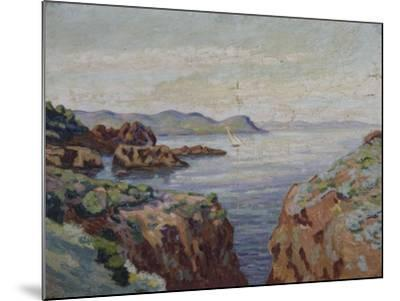 Vers le Mal Infernet (Esterel)-Armand Guillaumin-Mounted Giclee Print