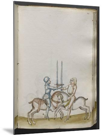 Traité de combat (tradition de maître Johann Lichtenauer)--Mounted Giclee Print