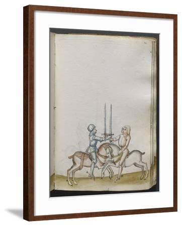Traité de combat (tradition de maître Johann Lichtenauer)--Framed Giclee Print