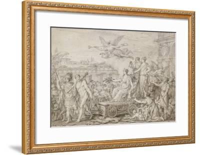 Triomphe de la Constitution de 1793-Joseph Marie Vien-Framed Giclee Print