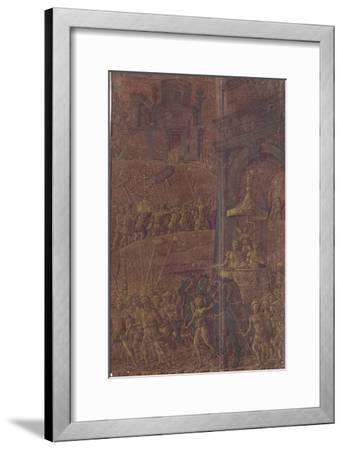 Triomphe de Titus-Andrea Mantegna-Framed Giclee Print