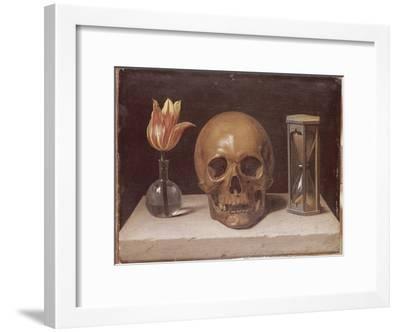 Vanité-Philippe De Champaigne-Framed Giclee Print