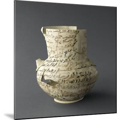Vase inscrit--Mounted Giclee Print