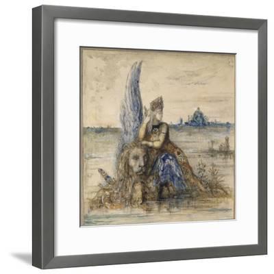 Venise-Gustave Moreau-Framed Giclee Print