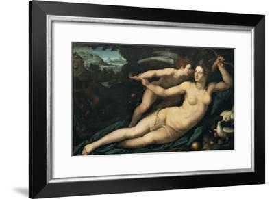 Vénus et l'Amour-Alessandro Allori-Framed Giclee Print