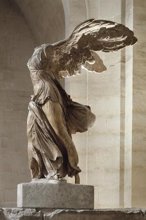 Victoire de Samothrace--Stretched Canvas Print
