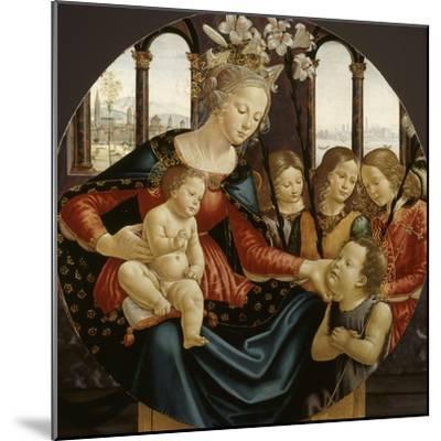 Vierge à l'Enfant-Domenico Ghirlandaio-Mounted Giclee Print