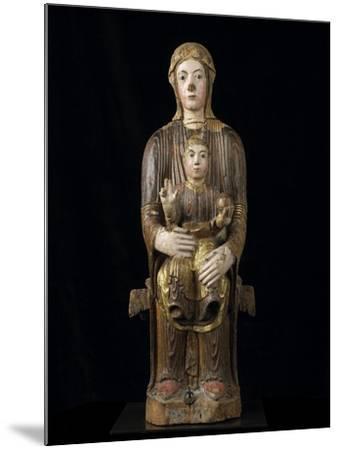 Vierge à l'Enfant en majesté--Mounted Giclee Print