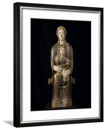 Vierge à l'Enfant en majesté--Framed Giclee Print