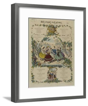 Nous n'irons plus au bois--Framed Giclee Print