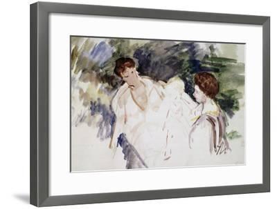 Femmes et enfants-Mary Cassatt-Framed Giclee Print
