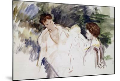Femmes et enfants-Mary Cassatt-Mounted Giclee Print