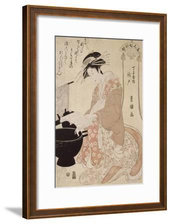 Jeune femme-Utagawa Toyokuni-Framed Giclee Print