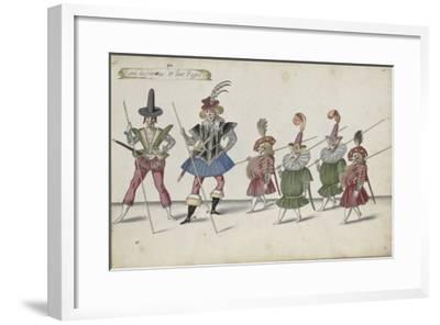 Album ; Ballet de la Douairière de Billebahaut et Ballet des fées des forêts de Saint Germain-Daniel Rabel-Framed Giclee Print